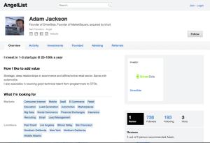 Adam Jackson Angel List